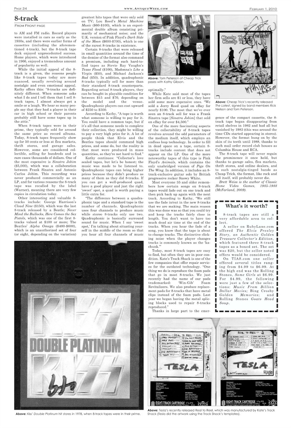 Antique Week 8-Track Story Pg 1